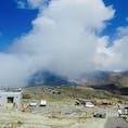 阿蘇山中岳の火口🌋