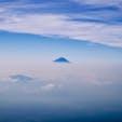 [2015/07] 長野県、赤岳(2899m)。 八ヶ岳連峰の最高峰であり、コースによっては日帰りも可能。 写真は山頂から拝んだ富士山。 登山をしていると実感しますが、富士山は本当に特別な山なんですよね。