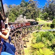 Puffing billy railway in Melbourne