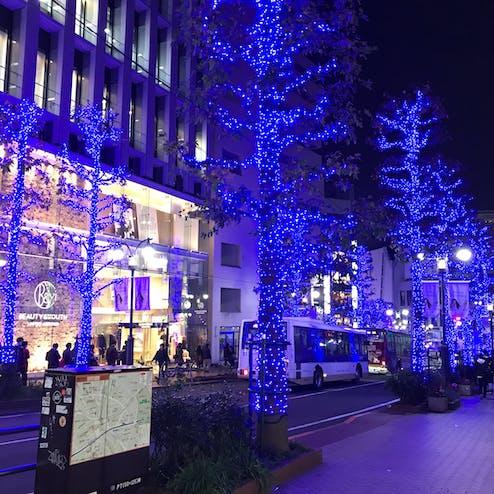 青の洞窟 SHIBUYA(渋谷公園通り〜代々木公園)