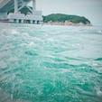 渦潮🌀✨船から🚢