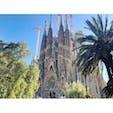 #バルセロナ と言えば、な、ド定番な #サクラダファミリア だけど、いつ見てもスーパーワンダフル。魔法でもかかってるのかしら。