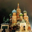 モスクワ  聖ワシリイ大聖堂