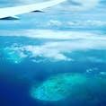 Cairnsから日本へ🛩 こんなに綺麗だとは。🏝