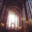 フランス🇫🇷 Sainte chapelle  ステンドグラスが綺麗すぎて忘れられない😋