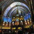 モントリオール・ノートルダム聖堂です。ここは撮影可能でしたが、裏の彫像があって実はそちらの印象の方が強いです😌圧巻でしたので、ぜひみなさんに来てみてください。