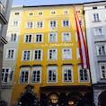 オーストリアのザルツブルク モーツァルトの生家に行って来ました。