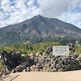 有村溶岩展望所からの桜島です。