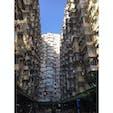 香港のマンション群 密集しております!