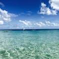 グリーン島の海🏝