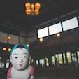 旧大社駅 国鉄大社駅のノスタルジックな駅舎だけでなく、奥には線路やホームもそのままあり、草の生えた線路から臨む景色もまた風情がありよしです!