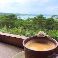 恩納村にあるカフェ土花土花です。 テラス席が気持ち良かった〜  #沖縄#恩納村#cafe