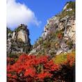 [2018/11] 山梨県、昇仙峡。 紅葉が見頃を迎えています。 そこまで人が多くなく、かつ綺麗な紅葉が観れるので非常に良かったです。 紅葉の写真もたくさん撮れました^^