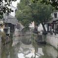 上海近郊にも小さな老街がいくつかあります。 ここは新場古鎮です。