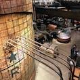 上海(南京西路)にある世界一大きい 「スターバックス」の中  STARBUCKS RESERVE ROASTERY SHANGHAI