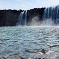 原尻の滝@大分県