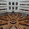 メルボルン*州立図書館