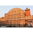 ピンクシティーの名前で知られるインドのジャイプル。ピンク一色に染まる街のシンボルと言えば、この風の宮殿です。 #india #jaipur #インド #ジャイプル #ピンクの街 #風の宮殿  #ハワーマハル