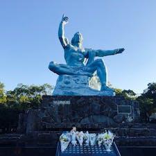 平和祈念像@長崎県