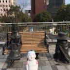 小倉@北九州 小倉駅にメーテルと鉄郎(銀河鉄道999)を発見。車掌さんなどなどもいます。