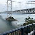 鳴門大橋(徳島から)
