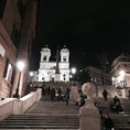 2018.10 イタリアローマ 夜のスペイン広場