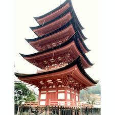 小雨の中、宮島 厳島神社へ