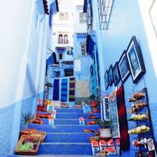 Chefchaouen モロッコの青い街、シャウエン! 可愛らしい雑貨も沢山〜♡
