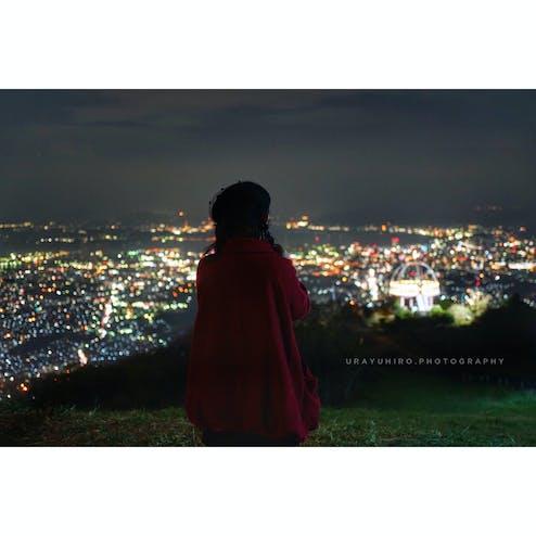 皿倉山展望台