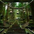 [2018/12] 熊本県、上色見熊野座神社。 阿蘇山頂から1時間ほどで行ける神社。 山奥の割には駐車場が大きく、車でのアクセスは楽でした。  最近知名度が上がったためか、意外にも参拝客やそれこそ写真を撮りに来ている方が結構いました。 単純に参拝するだけならものの30分程度で往復できるため、周辺のその他の観光スポットと合わせて尋ねたら良いかもしれませんね。