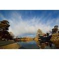 #長野県松本市 #松本城 初日の出。太陽写してないですが。 あけましておめでとうございます🌅