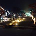 すごく雰囲気のある夜の伊香保温泉は良かった♨️