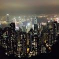 香港🇭🇰九龍 ビクトリアピーク 百万ドルの夜景🌃