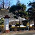 1月頭の盛岡城跡公園