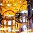 イスタンブール🇹🇷 アヤソフィア🕌 キリスト教とイスラム教の調和が美しいです #アヤソフィア