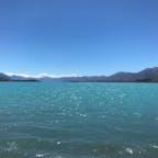 ニュージーランド テカポ湖  加工なしでこの色はすごい👏🏻 またいきたい☺️