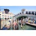 イタリア 🇮🇹 ヴェネチア  念願のゴンドラにも乗ることができました。