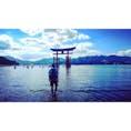厳島神社 はやく海行きたい!あったかくなって 2017.8.12