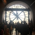 オルセー美術館はパスありで1時間! なかったら多分3時間はかかるであろう行列でした! モネをたくさん見れて幸せでした☺️
