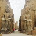 エジプト ルクソール神殿の入口