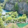 プリトヴィツェ湖群国立公園 ザグレブからバスで片道2時間ほど! エメラルドグリーンの湖は、本当に美しい! #クロアチア #世界遺産