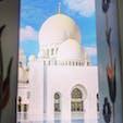 トランジットで行ったシェイクザイードモスク ✨  📍Abu Dhabi, UAE
