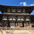 世界遺産にも認定された法隆寺です♡ 聖徳太子と推古天皇が607年に建立された歴史ある建物です^^ 奈良にお越しの際は是非♡  #奈良県 #法隆寺 #歴史的建造物 #世界遺産