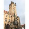 プラハの旧市街広場にある天文時計 色鮮やかでとても優雅だった。  #thosedayswithyou #praha #czech