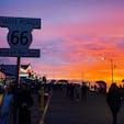 Santa Monicaの夕陽🌆
