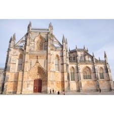 """ポルトガル🇵🇹   バターリャの修道院  正式名称は""""勝利の聖マリア修道院""""  #世界遺産  #未完の礼拝堂"""