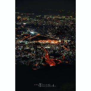 皿倉山展望台 新日本三大夜景
