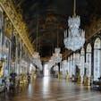 Versailles, France  鏡の間  運良く、誰もいない瞬間が撮れました。