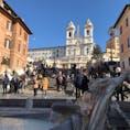 ローマ スペイン広場にて、、、素敵な旅でした!
