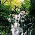 糸島の白糸の滝🐬💦🎐